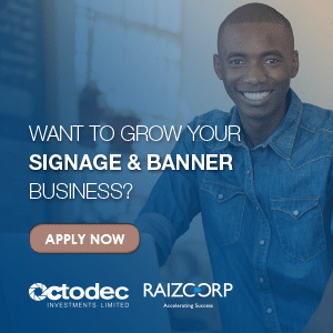 In the signage & banners business
