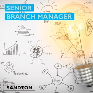 Job vacancy - Senior Branch Manager