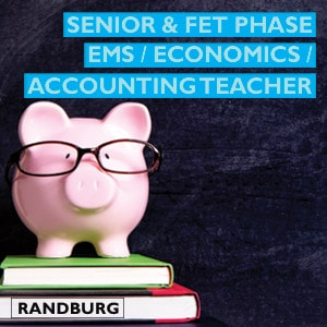FET & Senior Phase EMS Economics Accounting educator