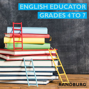 Radley job vacancy - English Educator (Grades 4 to 7)