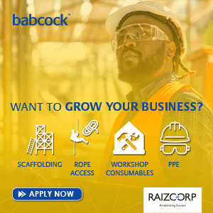 In the business of construction or building maintenance?
