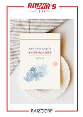 Meditations for entrepreneurs