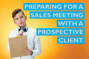 Raizcorp article: Preparing for a sales meeting with a prospective client