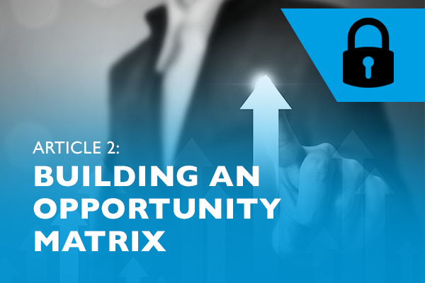 Raizcorp article: Lockdown advice #2 - Building an opportunity matrix