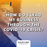 COVID-19 is upon us and with it comes unavoidable worry and even panic. We as leaders in our businesses need to find a way to see this crisis differently, and Allon helps us to do exactly that in this instalment of #EntrepreneursAsk.