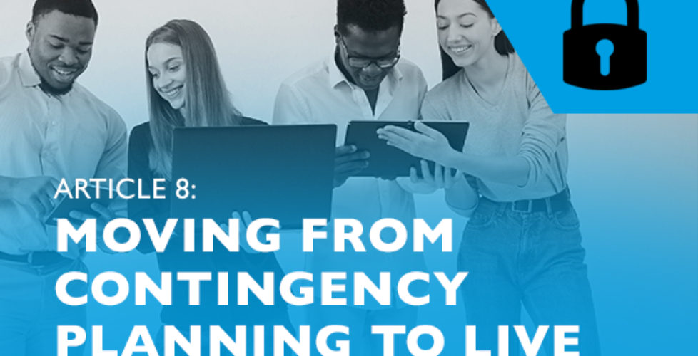 Raizcorp article – Lockdown advice #8: Moving from contingency planning to live decision making