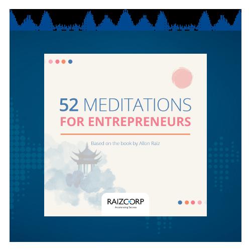 Meditations for Entrepreneurs - Series Header
