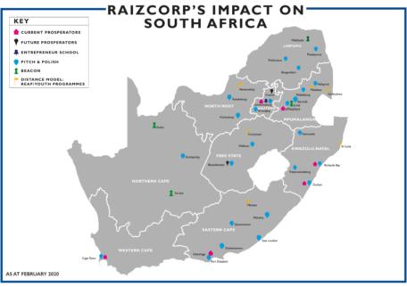 Business incubator programmes, Enterprise development programmes, Supplier development programmes