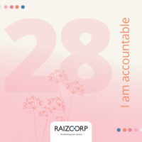 Meditation 28: I Am Accountable By Allon Raiz CEO & Founder of Raizcorp