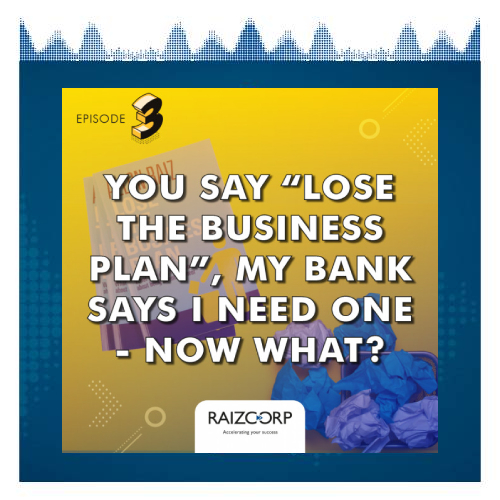"""Q You Say """"Lose The Business Plan"""", My Bank Says I Need One - Now What"""