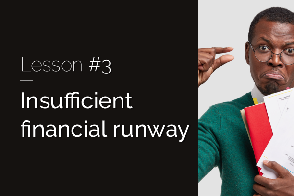 Raizcorp article: 20 lessons over 20 years #3 – Insufficient financial runway