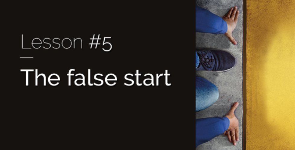 Raizcorp article: 20 lessons over 20 years #5 – The false start