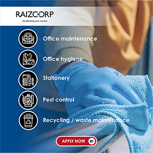 Raizcorp business growth programme for office maintenance or supplies businesses