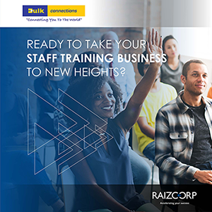 If your business offers staff training services, apply to join the Bulk Connections business growth programme powered by Raizcorp