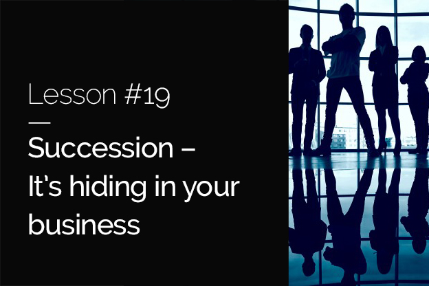 Raizcorp article – 20 lessons over 20 years # 19 – Succession: It's hiding in your business
