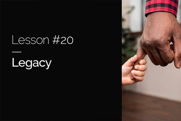 Raizcorp article – 20 lessons over 20 years # 20 – Legacy